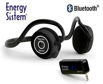 Energy Sistem LINNKER 4440 - Auriculares de diadema abiertos inalámbricos (con micrófono, control remoto integrado), negro: Amazon.es: Electrónica