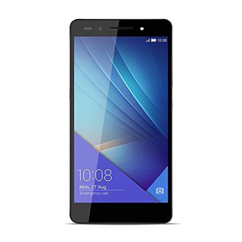Honor 7 Smartphone débloqué 4G Ecran 5 2 pouces 16 Go Double Nano SIM Android 5 0 Lollipop Gris Noir