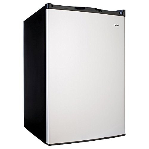 Haier 4.5 Cu Ft Compact Refrigerator, Virtual Stainless for sale  Delivered anywhere in USA