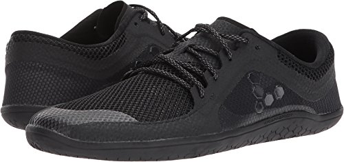 Vivobarefoot Women's Primus Lite Running Trainer Shoe, All Black, 42 D EU (11 US)