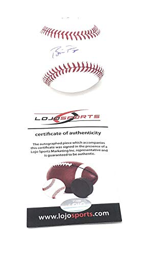 Francisco Autograph Giants - Buster Posey San Francisco Giants Signed Autograph Official MLB Baseball LoJo Sports Certified
