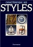 Caractéristique des styles