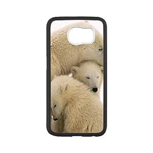 GTROCG Polar Bear Phone Case For Samsung Galaxy S6 G9200 [Pattern-6]