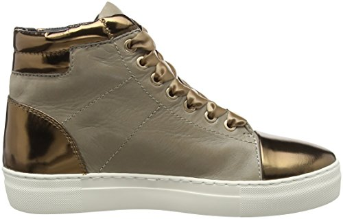 Joop Damen Daphne High Sneaker I Soft Leather Braun (104)