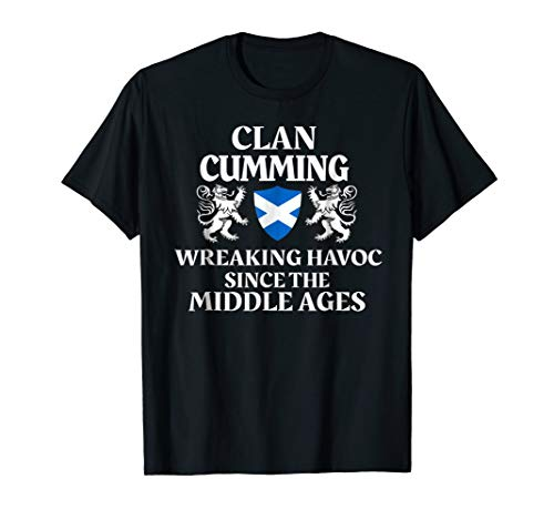 Cumming Scottish T-Shirt Family Clan Scotland Name Gift