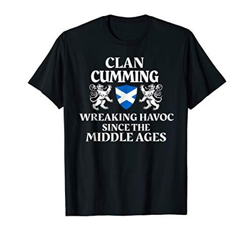 - Cumming Scottish T-Shirt Family Clan Scotland Name Gift