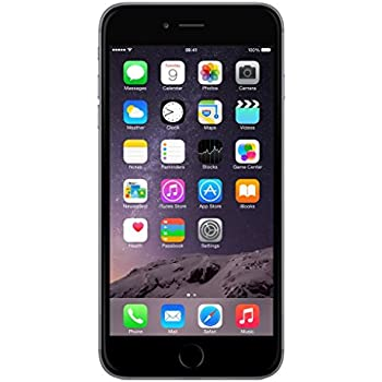 premium selection 7a12a 1aff2 Amazon.com: Apple iPhone 6 Plus 64GB Unlocked GSM Phone - Space Gray ...