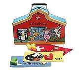 Ready Set Learn Paz's Alphabet Schoolhouse Magnetic A-z