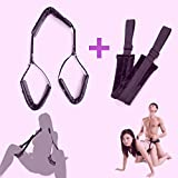 YierM Portable Thigh Set and Waist Belt for Couples Games, Posture aid Straps for Indoor Games