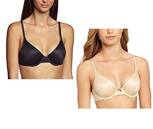 Maidenform Women's Comfort Devotion T-Shirt Bra - 2-Pack