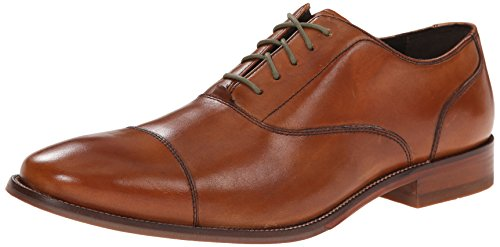 Cole Haan Men's Williams Captoe II Shoe, British tan, 10 Medium US - Cole Haan Cap Toe