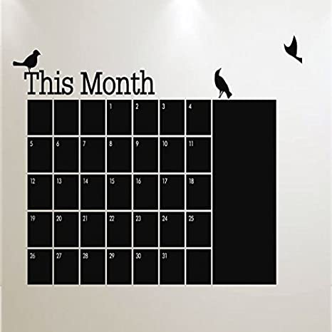 Nueva DIY mensual pizarra calendario planificador pizarra ...