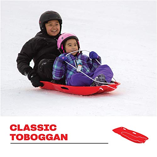 Airhead Classic 2 Person Toboggan Snow Sled
