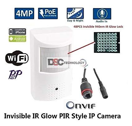 Amazon com : 4MP 3 7mm Lens Convert Nanny IP Camera Sony