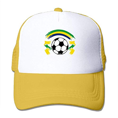 Two and Hat Trucker Tone Adjustable Brazil Mesh Ftball Gorras béisbol NDJHEH Hat Flag gROq86Ex