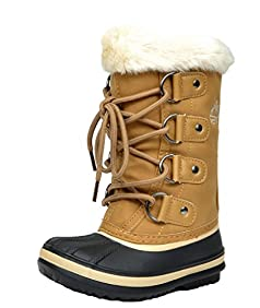 ARCTIV8 SYRACUSE New Kids Boys/Girls Casual Everyday Faux Fur Lining Padded Insole Lace/Zip Up Winter Outdoor Snow Skii Boots