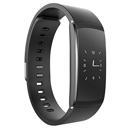 IWOWNfit i6 Pro Fitness Tracker, Heart Rate Monitor Smart Watch Bluetooth 4.0 for IOS 8.0/Above, Android 4.4/Above