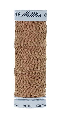 Mettler Metrosene Cordonnet Old Number 1146-0731 Poly Thread, 50m/55 yd, Straw