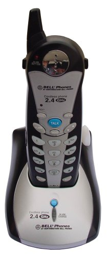 Northwestern Bell 36280-M4 2.4 GHz Analog Cordless Phone (Silver/Black)
