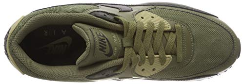Olive Sneakers 90 Medium NIKE 001 Neutral Essential Black Air Max Mehrfarbig Herren Olive Sequoia SSgqp