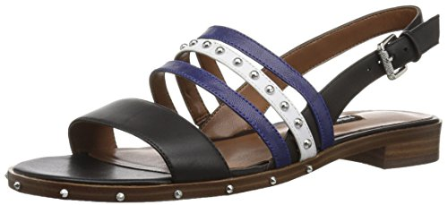 Image of Nine West Women's Chaylen Leather Flat Sandal