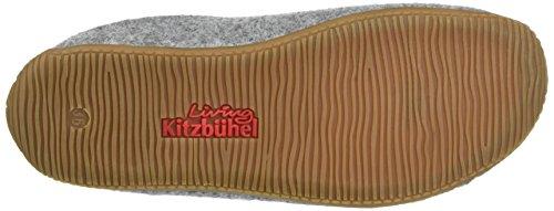 "Living Kitzbühel Pantoffel Filz ""Alpenmoos"" - Pantuflas Unisex adulto gris"