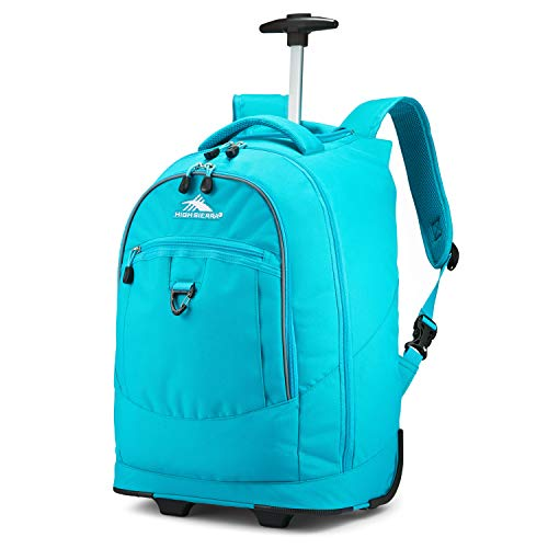 High Sierra Unisex Chaser Wheeled Laptop Backpack,