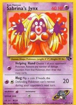 (Pokemon Sabrina's Jynx - Gym Challenge - 57 [Toy])