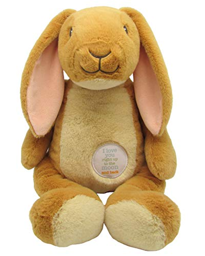 Kids Preferred Guess How Much I Love You Nutbrown Hare Floppy Bunny Stuffed Animal, 15.5