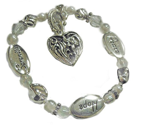 DMM Expressively Yours Bracelet - Peace, Hope, Serenity