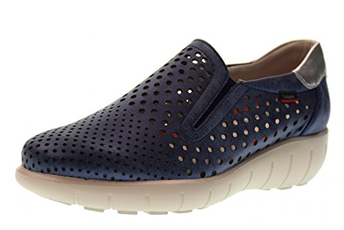 Laces Callaghan BLU Blue Woman Shoes 11603 Sneakers Without qOr6OBFIw