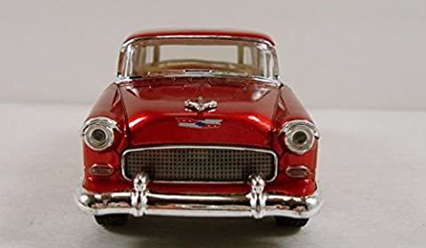 Kinsmart 1955 Chevy Nomad 1:40 Scale 5: diecast model car Burgundy K62 NKS - Pictures 1955 Chevy