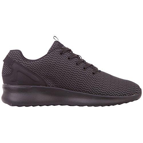 Result 1111 Noir Kappa Sneakers Basses Homme Knt black ZxTqR1S