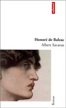 Albert Savarus par Balzac