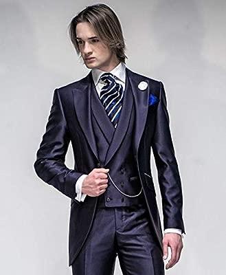 GFRBJK Abrigo Pantalón de diseño Púrpura, Satén, Hombres ...