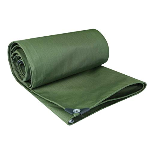 (ATR Tarpa Tarp Waterproof Heavy Duty Tarpaulin Waterproof, Oxford Tent Fabric, Poly Army Resistant Canvas Fire Retardant, UV (0.75mm) YJLGRYF (Size: 3x4m) )