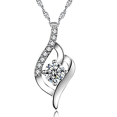 necklaces crystal_ Pendant crystal_necklace deals_Pendant silver_pendant jewelry_ Necklace Wedding