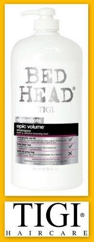 Tigi Bed Head Styleshots Epic Volume Shampoo W/pump 67.64oz (2 Liters) by TIGI