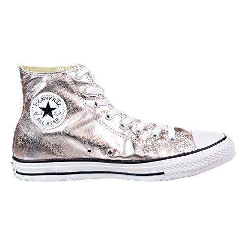 Metallic High Top Sneaker - 5