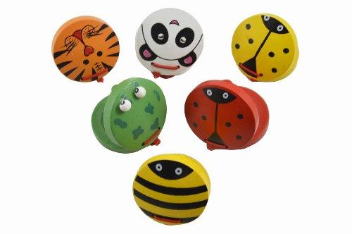 Gosear Chunky Madera Castañuelas Animales Kids Childrens bebé Educación Temprana Musicales Juguetes Instrumentos