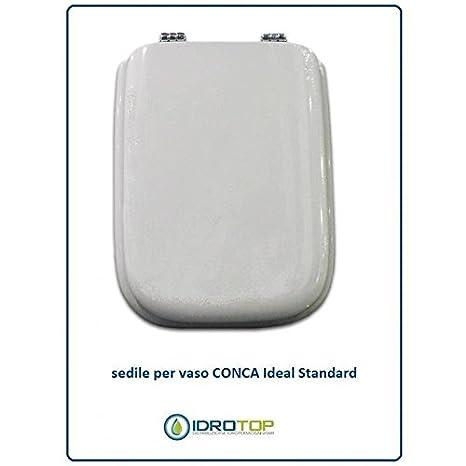 Ideal Standard Sedile Conca.Acb Colbam Copriwater In Legno Rivestito Di Poliestere Per Ideal