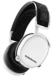SteelSeries Arctis 7 - Wireless Gaming Headset - DTS Headphone:X v2.0 Surround for PC and PlayStation 4 - White [2019 Edition]