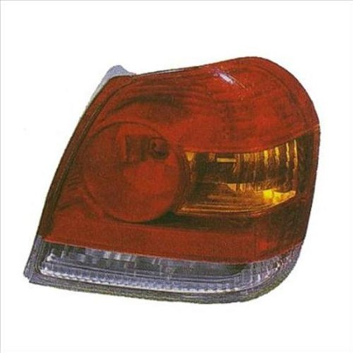 Partslink Number TO2818123 OE Replacement Toyota Echo Left Tail Lamp Lens//Housing Multiple Manufacturers
