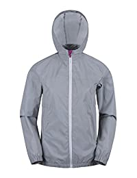 Mountain Warehouse Dashing Womens Reflective Jacket Silver 2