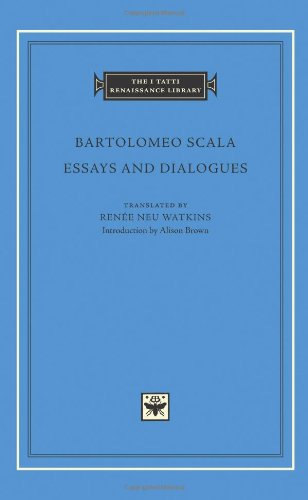 Essays and Dialogues (The I Tatti Renaissance Library)