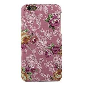 MOFY-Rosa patr—n de dise–o de la cubierta dura para el iphone 6