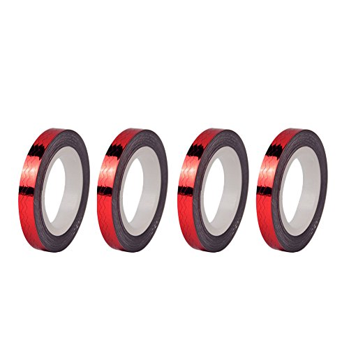 12 Rolls 6mm DIY Striping Tape Line Nail Art Decoration Sticker Red by Kylin Express
