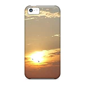 Iphone 5c Case Cover - Slim Fit Tpu Protector Shock Absorbent Case (danza Nocturna)