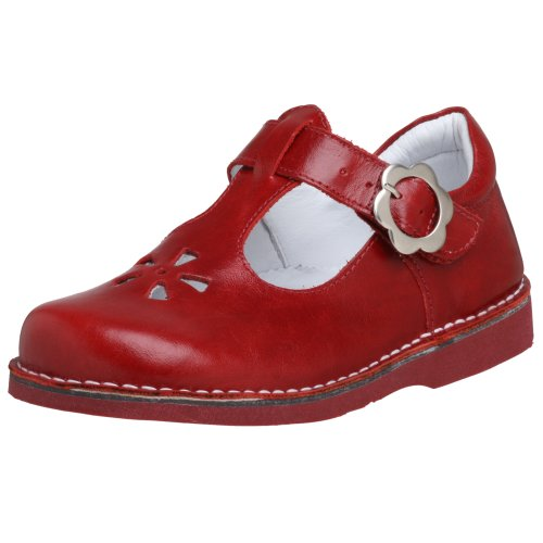 Kid Express Toddler Molly T-Strap,Red,20 EU (US Toddler 5 M)