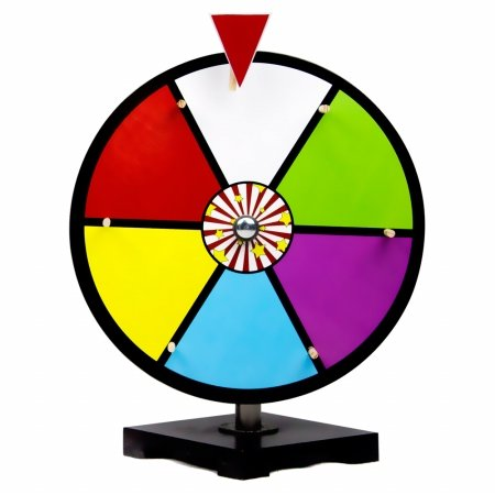12 Inch Color Dry Erase Prize Wheel By Midway (Dry Erase Prize Wheel)